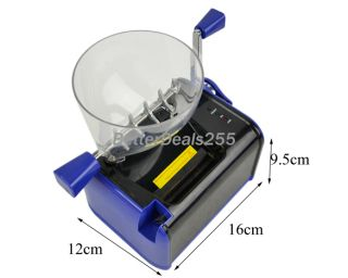 Multifunctional Full Automatic Electric Cigarette Rolling Machine Blue B20E New