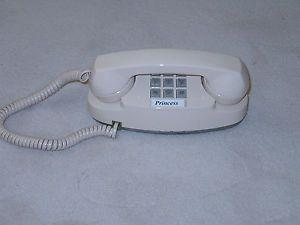 Western Electric Bell Telephone System Light Tan Princess Phone Pristine