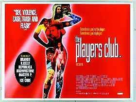 The Players Club Lisa Raye Jamie Foxx Original 30x40 UK Quad Movie Poster