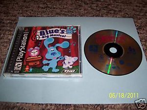Blue's Clues Blue's Big Musical PlayStation Complete 074299280627