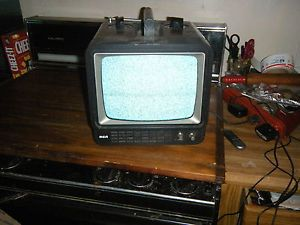 RCA Vintage Portable TV Television Most Likely not Color Bakelite Works