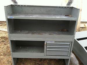 Steel Van Storage Cabinets & Shelving Van Drawer Units Van Modules