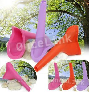 Camping Travel Portable Female Women FUD Reusable Device Urine Funnel Toilet Aid