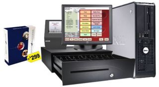 Dell Pizza Restaurant POS System Pizza Point of Sale Bundle System