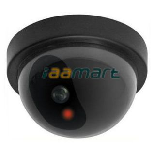 LED Flash Light Fake Dummy Dome Camera Simulated Security Safety Camera Wireless