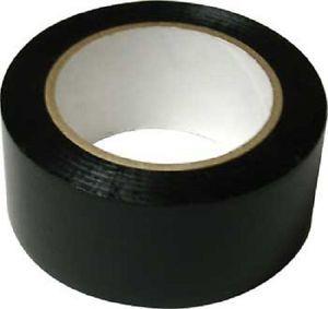 """Black Vinyl Floor Tape 2"""" x 36 yd for Dance Gym Court MLV Seam Marking Safety 5S"""