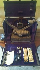 Vintage Bell Howell 16mm Filmo Auditorium Projector w Accessories Model 130 B