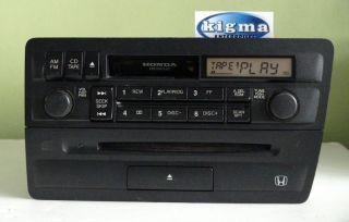 Honda civic 2001 2005 cd cassette radio player combo 2pc3 tested