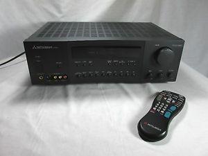 Mitsubishi M VR600 A V Receiver Home Audio Video Stereo Receiver Controller