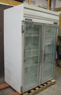 Beverage Air ER48 1A 2 Glass Door Reach in Cooler Double E Series Refrigerator