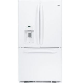 New GE Profile Energy Star 25 1 CU ft White French Door Refrigerator PFSF5RKZWW