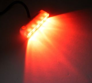 Surface Mount 5 LED Bright Red Step Light Thin Design