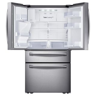 Samsung RF31FMEDBSR 31 CU ft 4 Door French Door Refrigerator with Flex Zone