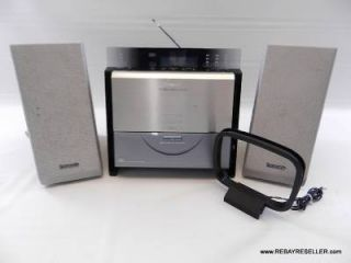 Panasonic SA EN6 Micro Stereo Mini Shelf System Slim Desktop CD Radio