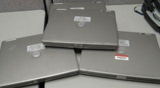 Lot 0109 3 Dell Latitude Laptops Used