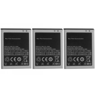 Replacement Battery for Samsung Straight Talk Galaxy S2 Phone 3 Pack