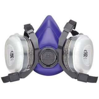 SAS Safety Bandit Medium Dual Cartridge Respirator Mask