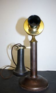 1915 American Bell Telephones Western Electric Candlestick Candle Stick Antique