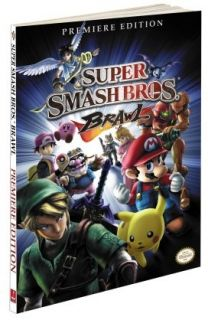 Nintendo Super Smash Bros Brawl Strategy Guide Book