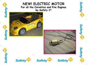 Safety 1st First Corvette Firetruck Gear Box Electric Motors