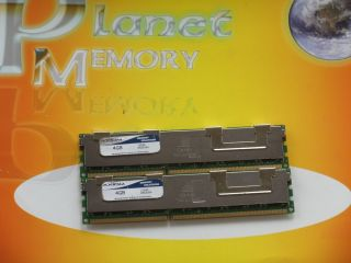 Axiom 8GB 2X 4GB DDR3 PC3 8500 1066MHz ECC Reg Server RAM not for Desktop Pcs