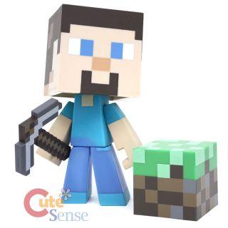 Minecraft Steve Video Game Vinyl Action Figure