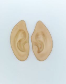 New Rubber Latex Pointed Elf Ears Costume Accessory Halloween