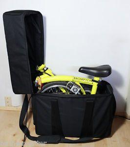 "Brompton Folding Bike Padded Travel Case Bag ""Bike not Included"""
