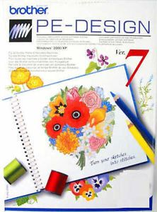 Brother Ped PE Design Embroidery Software