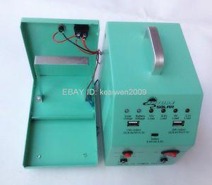 Solar Power System Box with 12V 3A Solar Charge Controller Output 12V8 4V5V3 3V