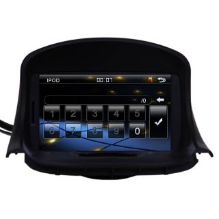 New Car GPS Navigation Double DIN TFT TV DVD Player Radio for 98 09 Peugeot 206