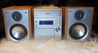 Philips MC 50 37 50Watt 3 CD Changer Mini Shelf Stereo