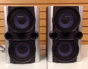 Sony SS EC77 Main Stereo Speakers