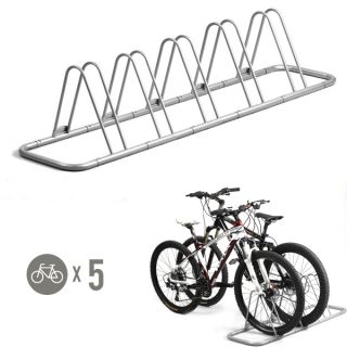 5 Bike Bicycle Floor Parking Rack Storage Stand ...  sc 1 st  PopScreen & New 6 Bike Bicycle Tree Compact Rack Stand Storage Mobile Bike Storage