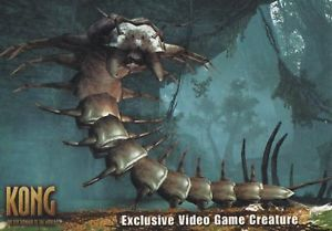 2005 King Kong Movie Video Game Creature Card C5