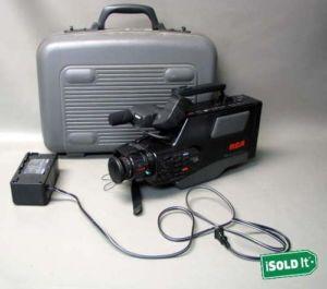 Pro Edit RCA 8x Solid State Image Sensor VHS Camera Camcorder Model CC415 Case