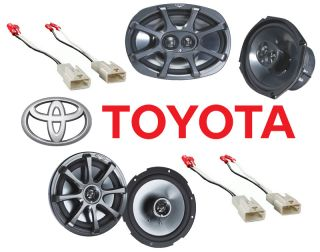 Toyota Tacoma 2005 2011 Kicker KS650 KS6930 Replacement Speakers Kit