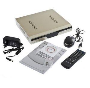 4 Channel Video H 264 Security Network CCTV Standalone DVR Surveillance System