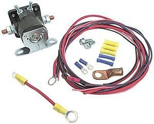 Racing Remote Starter Solenoid Relocation Ford Style Kit