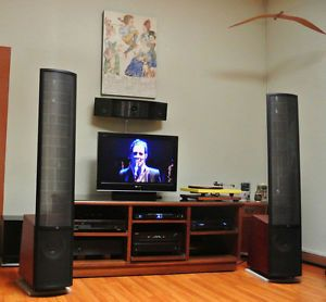 Martin Logan Vantage Speakers w Active Subwoofers 877929003296