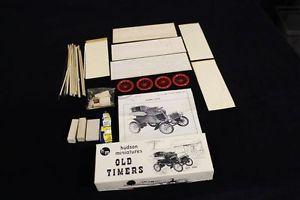 Complete Vintage Hudson Miniatures Model Car Kit Old Timers Series 1903 Ford