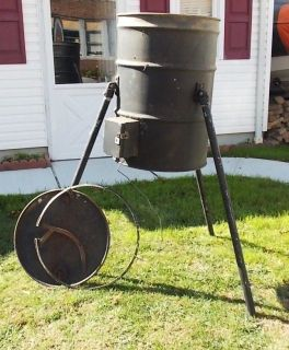 Home Made Deer Feeder 55 Gallon Tripod