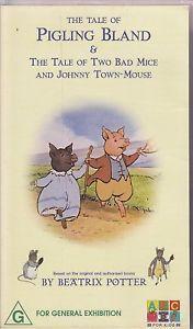 PAL VHS Video Tape The Tale of Pigling Bland ABC G