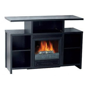 Corner Flat Wall Media Electric Fireplace Mantle TV Stand Entertainment Center