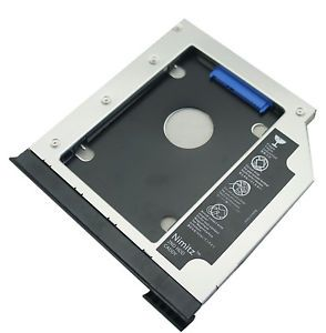 With Ejector 2nd HDD SSD Hard Drive Caddy for Dell E6540