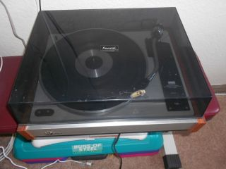 RARE Sansui Quad Turntable Model Fr 3080 Working Please Read for Description