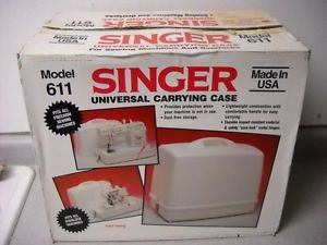 Singer 611 Universal Sewing Machine Carrying Case New in Box