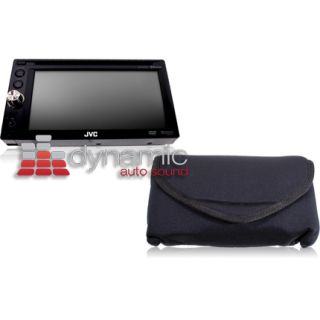 "JVC KW AVX748 Indash 6 1"" 2 DIN DVD Car Stereo Receiver w Bluetooth Wireless New"