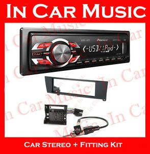 BMW 3 Series E90 Car Stereo Kit Pioneer iPod iPhone Radio USB Aux in Player