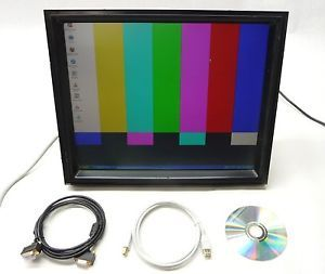 "Kortek KTL190ST 05 19"" LCD VGA DVI USB Touchscreen Touch Display Arcade Monitor"